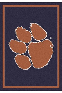 Milliken College Team Spirit (NCAA) Clemson 79798 Spirit Rectangle (4000019153) 3'10