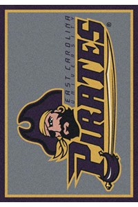 Milliken College Team Spirit (NCAA) East Carolina 79803 Spirit Rectangle (4000019156) 3'10