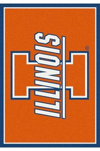 Milliken College Team Spirit (NCAA) Illinois 74233 Spirit Rectangle (4000019333) 7'8