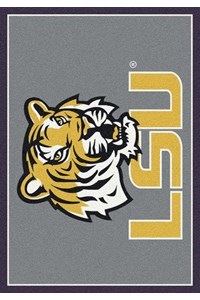 Milliken College Team Spirit (NCAA) LSU 45280 Spirit Rectangle (4000019171) 5'4