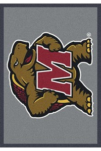 Milliken College Team Spirit (NCAA) Maryland 74387 Spirit Rectangle (4000019354) 7'8