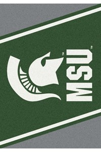 Milliken College Team Spirit (NCAA) Michigan State 74198 Spirit Rectangle (4000019204) 5'4
