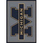 "Milliken College Team Spirit (NCAA) Michigan 74238 Spirit Rectangle (4000019451) 2'8"" x 3'10"" Area Rug"