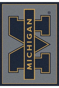Milliken College Team Spirit (NCAA) Michigan 74238 Spirit Rectangle (4000019097) 3'10