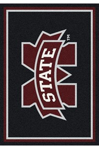 Milliken College Team Spirit (NCAA) Mississippi State 45285 Spirit Rectangle (4000019174) 5'4