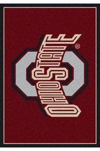 Milliken College Team Spirit (NCAA) Ohio State 45262 Spirit Rectangle (4000019289) 7'8