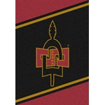 "Milliken College Team Spirit (NCAA) San Diego State 44738 Spirit Rectangle (4000019399) 2'8"" x 3'10"" Area Rug"
