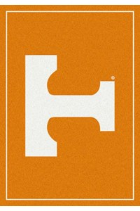 Milliken College Team Spirit (NCAA) Tennessee 74365 Spirit Rectangle (4000019104) 3'10