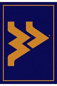 Milliken College Team Spirit (NCAA) West Virginia 79130 Spirit Rectangle (4000019377) 7'8