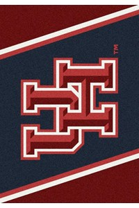 Milliken College Team Spirit (NCAA-SPT) Houston 00387 Spirit Rectangle (4000054301) 3'10