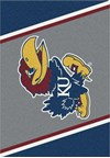 Milliken College Team Spirit (NCAA-SPT) Kansas 00386 Spirit Rectangle (4000053842) 3'10