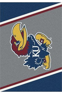 Milliken College Team Spirit (NCAA-SPT) Kansas 00386 Spirit Rectangle (4000054446) 7'8