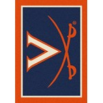 "Milliken College Team Spirit (NCAA-SPT) Virginia 79590 Spirit Rectangle (4000054528) 7'8"" x 10'9"" Area Rug"