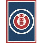 "Milliken MLB Team Spirit (MLB-S) Chicago Cubs 01003 Spirit Rectangle (4000019663) 10'9"" x 13'2"" Area Rug"