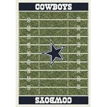"Milliken NFL Team Home Field (NFL-F) Dallas Cowboys 01027 Home Field Rectangle (4000019793) 3'10"" x 5'4"" Area Rug"