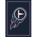 "Milliken NFL Team Spirit (NFL-S) Tennessee Titans 00991 Spirit Rectangle (4000095940) 5'4"" x 7'8"" Area Rug"
