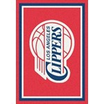 "Milliken NBA Team Spirit (NBA-S) Los Angeles Clippers 01012 Spirit Rectangle (4000052338) 3'10"" x 5'4"" Area Rug"