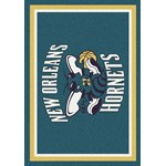 "Milliken NBA Team Spirit (NBA-S) New Orleans Hornets 01019 Spirit Rectangle (4000052878) 2'8"" x 3'10"" Area Rug"