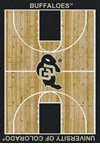 Milliken College Home Court (NCAA) Colorado 01063 Court Rectangle (4000018457) 7'8