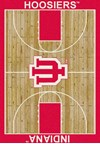 Milliken College Home Court (NCAA) Indiana 01115 Court Rectangle (4000018298) 3'10