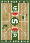 Milliken College Home Court (NCAA) Michigan State 01180 Court Rectangle (4000018480) 7'8