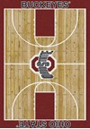 Milliken College Home Court (NCAA) Ohio State 01000 Court Rectangle (4000018447) 7'8