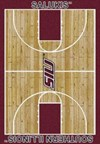 Milliken College Home Court (NCAA) Southern Illinois 01380 Court Rectangle (4000018332) 3'10