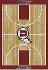 Milliken College Home Court (NCAA) Utah 01452 Court Rectangle (4000018346) 3'10