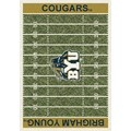 Milliken College Home Field (NCAA) Brigham Young 01048 Home Field Rectangle (4000018613) 7