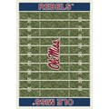 Milliken College Home Field (NCAA) Mississippi 01186 Home Field Rectangle (4000018638) 7