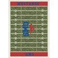 Milliken College Home Field (NCAA) Southern Methodist 01390 Home Field Rectangle (4000018655) 7