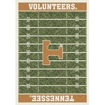 "Milliken College Home Field (NCAA) Tennessee 01400 Home Field Rectangle (4000018658) 7'8"" x 10'9"" Area Rug"