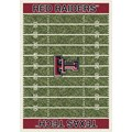 Milliken College Home Field (NCAA) Texas Tech 01440 Home Field Rectangle (4000018662) 7