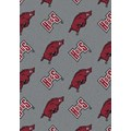 Milliken College Repeating (NCAA) Arkansas 01020 Repeat Rectangle (4000018825) 5