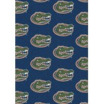 "Milliken College Repeating (NCAA) Florida 01500 Repeat Rectangle (4000019032) 10'9"" x 13'2"" Area Rug"