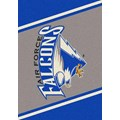 Milliken College Team Spirit (NCAA) Air Force 68870 Spirit Rectangle (4000019185) 5