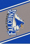 Milliken College Team Spirit (NCAA) Air Force 68870 Spirit Rectangle (4000019306) 7'8