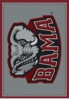 Milliken College Team Spirit (NCAA) Alabama 74166 Spirit Rectangle (4000019315) 7'8
