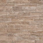 "Daltile Season Wood: Redwood Grove 6"" x 48"" Porcelain Tile SW04-6481P"