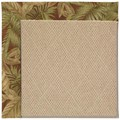 Capel Rugs Creative Concepts Cane Wicker - Bahamian Breeze Cinnamon (875) Octagon 4