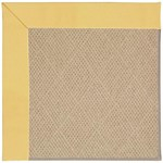 Capel Rugs Creative Concepts Cane Wicker - Canvas Canary (137) Octagon 6' x 6' Area Rug