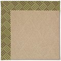 Capel Rugs Creative Concepts Cane Wicker - Dream Weaver Marsh (211) Octagon 6