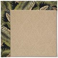 Capel Rugs Creative Concepts Cane Wicker - Bahamian Breeze Coal (325) Octagon 6