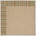 Capel Rugs Creative Concepts Cane Wicker - Dorsett Autumn (714) Octagon 6