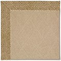 Capel Rugs Creative Concepts Cane Wicker - Tampico Rattan (716) Octagon 6