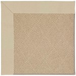 Capel Rugs Creative Concepts Cane Wicker - Canvas Antique Beige (717) Octagon 6' x 6' Area Rug