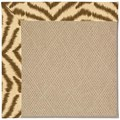 Capel Rugs Creative Concepts Cane Wicker - Couture King Chestnut (756) Octagon 6