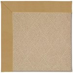 Capel Rugs Creative Concepts Cane Wicker - Canvas Brass (180) Octagon 8' x 8' Area Rug