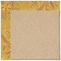 Capel Rugs Creative Concepts Cane Wicker - Cayo Vista Tea Leaf (210) Octagon 8
