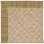 Capel Rugs Creative Concepts Cane Wicker - Vierra Onyx (345) Octagon 8' x 8' Area Rug